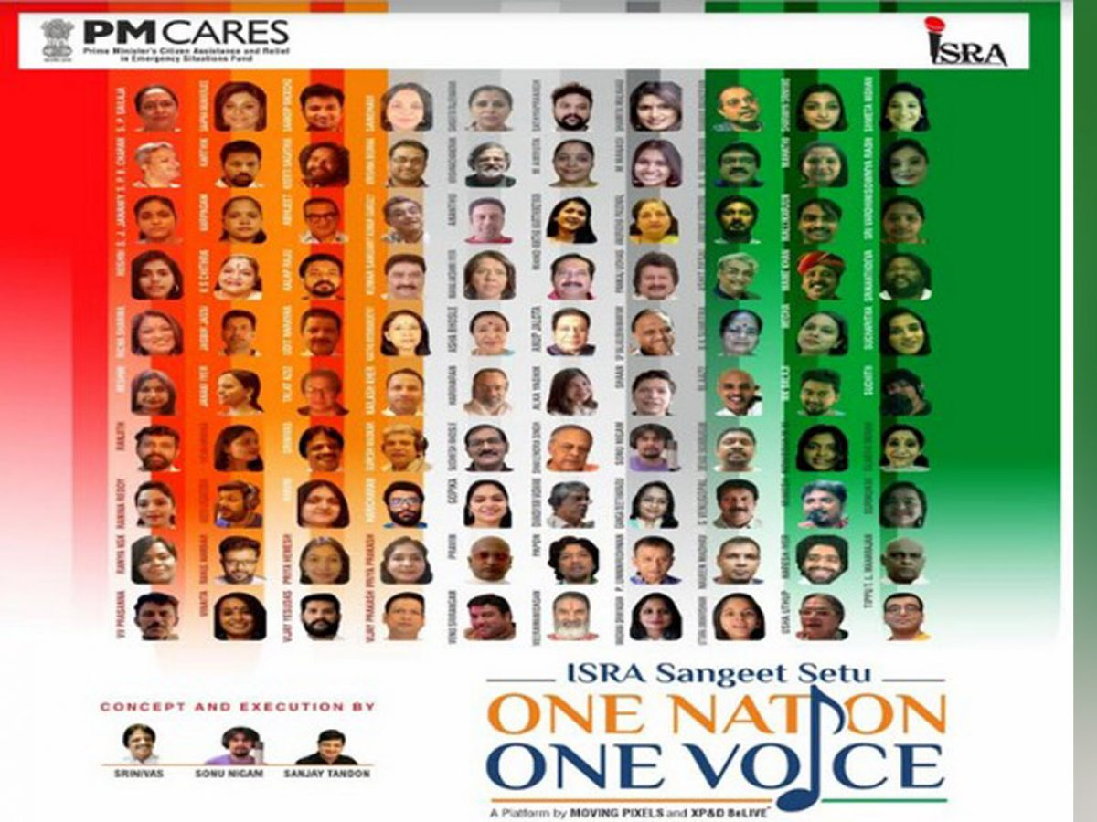 100 Singers Unite For Anthem In Aid Of Pm Cares Fund