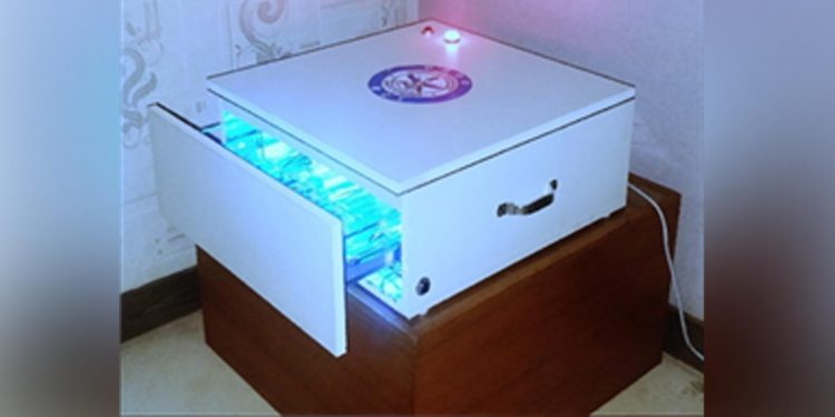 DRUVS Cabinet developed by DRDO. Image credit: PIB