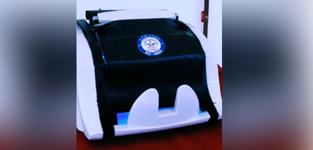 Automated UVC currency sanitising device NOTESCLEAN developed by DRDO