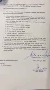 Assam: Committee formed to bring back COVID-19 lockdown stranded people 2