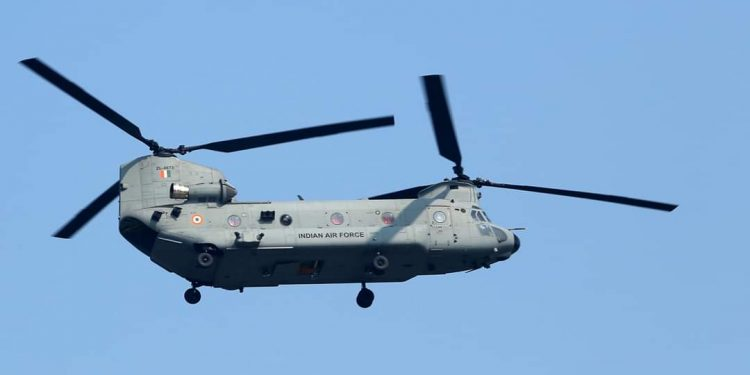 IAF deploys Chinook helicopters in Assam 1