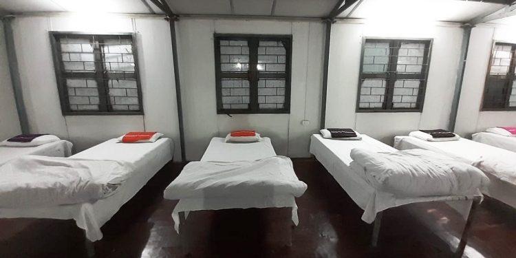 quarantine centres
