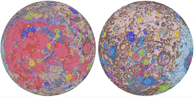US Geological Survey releases first comprehensive geological map of Moon 1