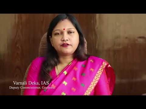 File image of Varnali Deka, deputy commissioner of Goalpara. Image courtesy: Youtube