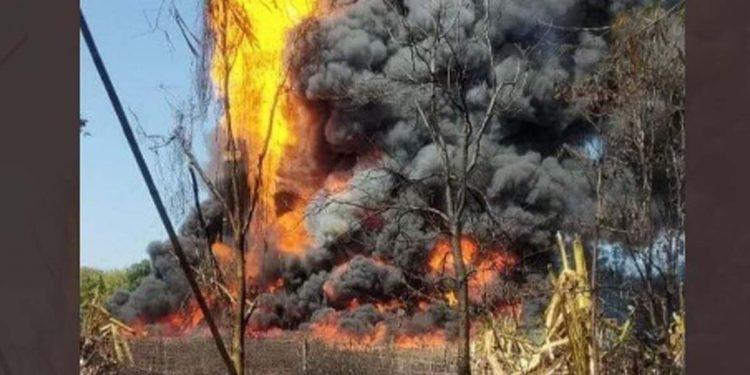 Baghjan fire