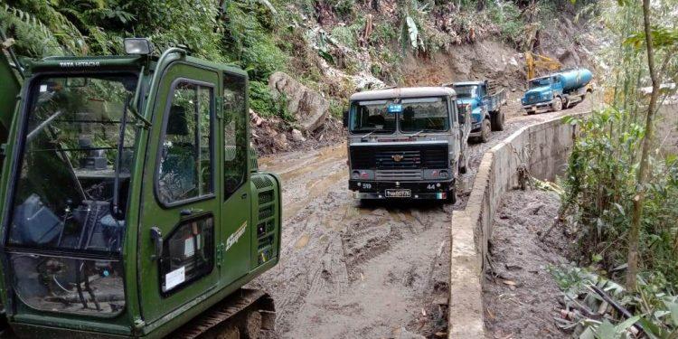 Arunachal: Connectivity to Shi-Yomi restored after 10 days 1