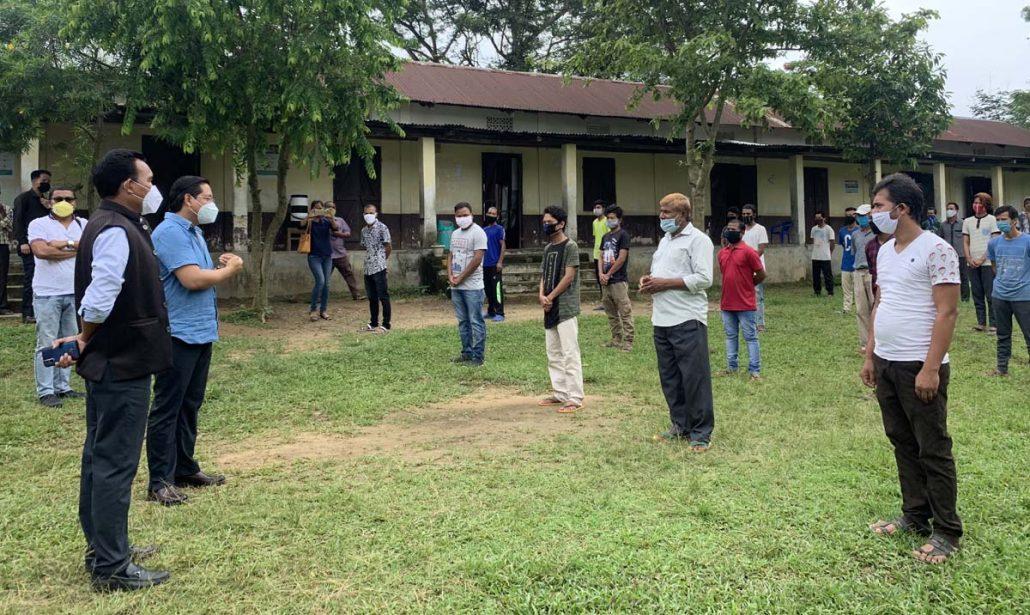 Meghalaya CM visits Quarantine, Corona Care Centres in 3 Garo Hills districts 3