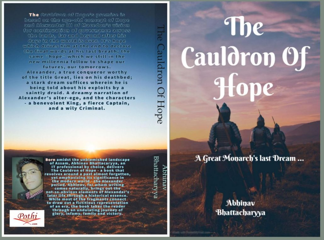 Between the lines & behind the words: Abhinav Bhattacharyya speaks about his debut novel 'The Cauldron of Hope' 1