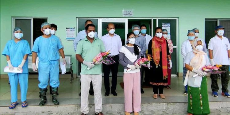 Arunachal: Four Covid-19 patients discharged from hospital after recovery 1