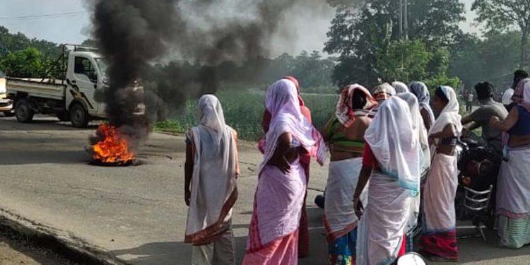 Dibrugarh murder protest