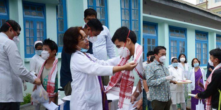 Discharged patients in Dima Hasao
