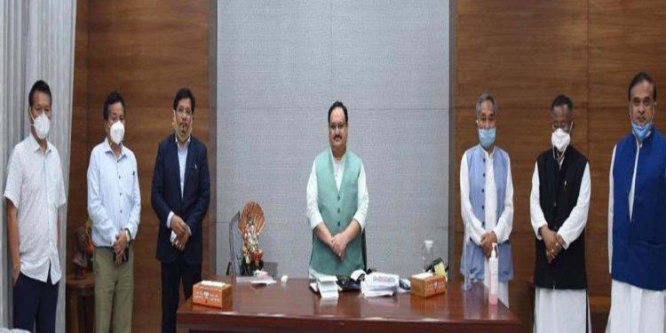 NPP delegation in New Delhi