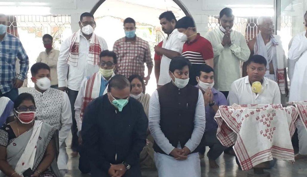 Assam health minister Himanta Biswa Sarma launches Covid Suraksha App in Jorhat 1
