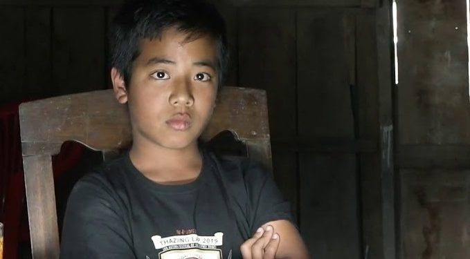 File image of Isaac Paulallungmuan Vaiphei. Image courtesy: Youtube