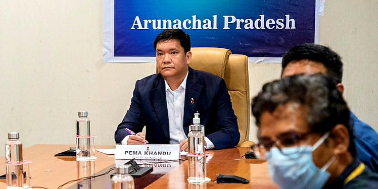 Chief minister Pema Khandu