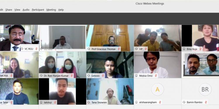 Arunachal: RGU hosts online social work alumni meet 2020 1