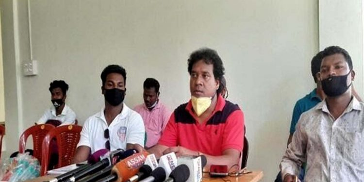 AASAA demands compensation for Baghjan blowout victims. Image: Northeast Now