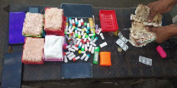 Seized heroin by Guwahati police