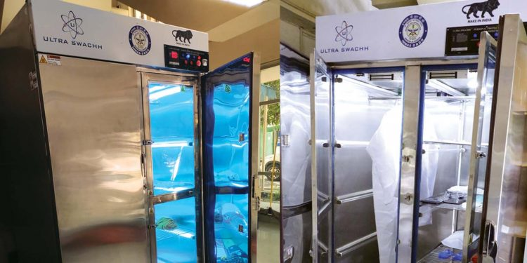 Disinfection unit named Ultra Swachh developed by DRDO