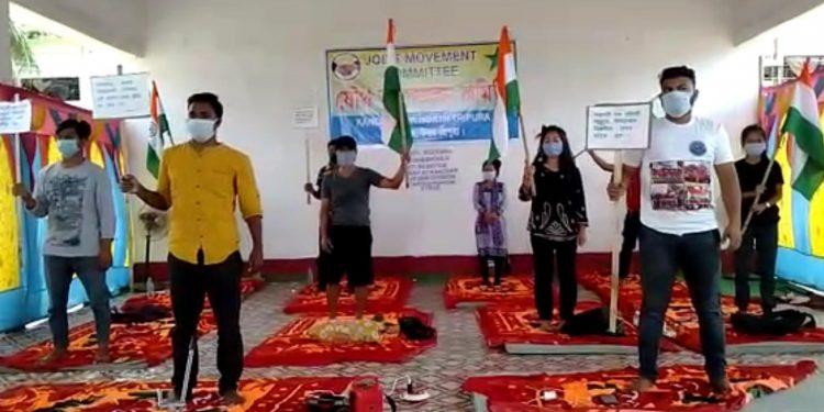 Tripura: Hunger strike against Bru settlement in Kanchanpur enters second day 1