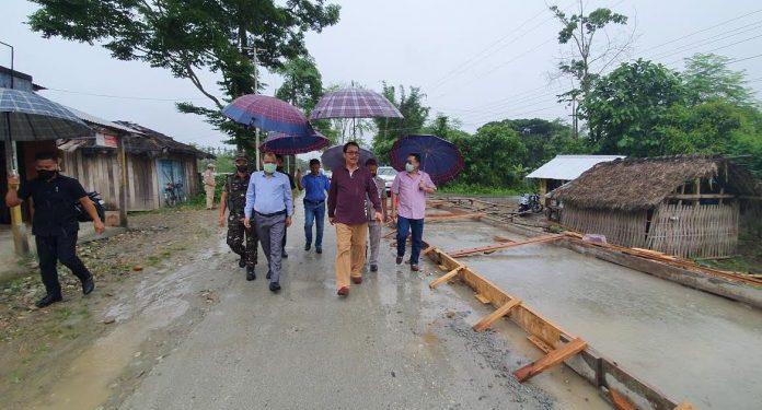 Arunachal Pradesh deputy CM Chowna Mein in Namsai on Tuesday