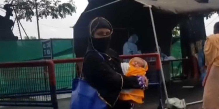 Jamila Khatun with her newborn. Image: Northeast Now