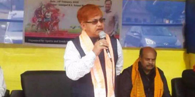 Udalguri Deputy Commissioner Prakash Ranjan Gharphalia
