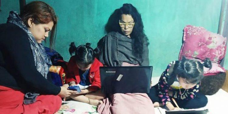 Santa Khurai, a transgender activist of Manipur