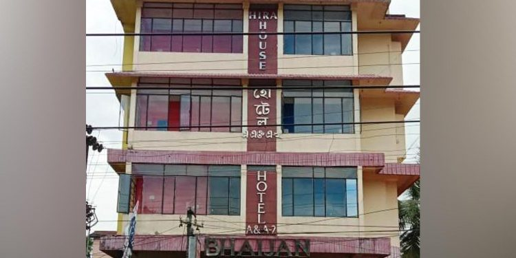 An employee of Hotel A&A2 in North Lakhimpur tested positive for COVID-19