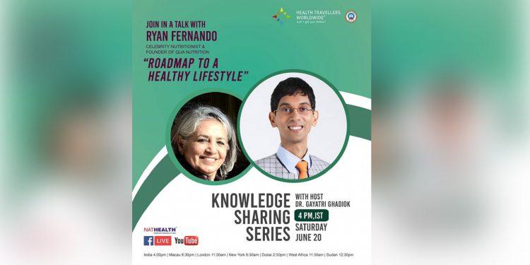 Celebrity nutritionist Ryan Fernando to talk on a roadmap to a healthy lifestyle 1