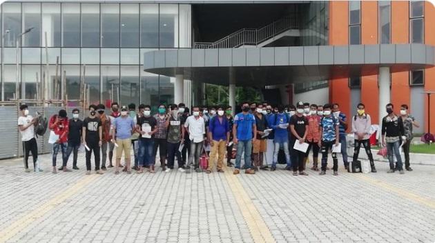 Tripura's discharged patients