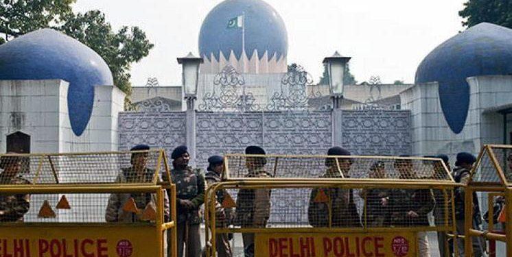 File image of Pakistan embassy in New Delhi