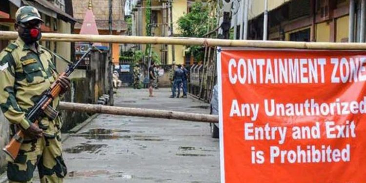 Covid19: Containment zones declared in Nagaland's Peren district 1