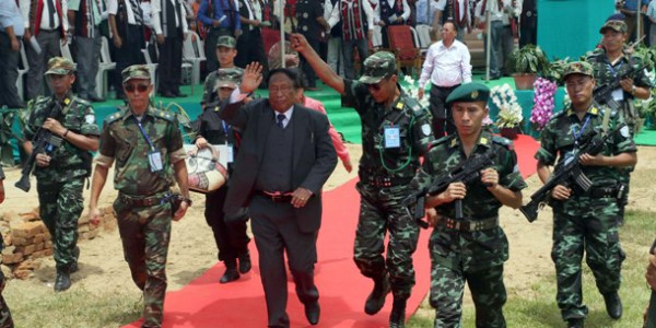 NSCN-IM chief Thuingaleng Muivah. (File image)