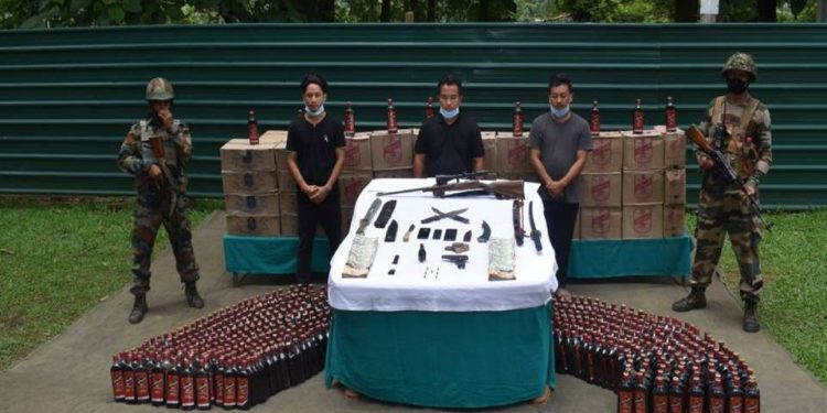 Nagaland: 3 held with arms in Dimapur 1