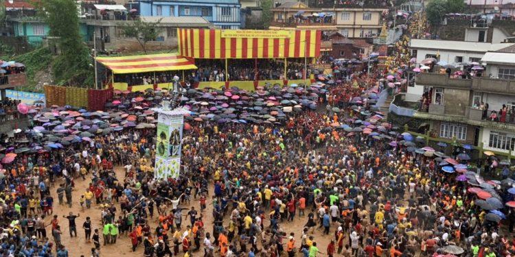 File image of Behdeiñkhlam celebration at Jowai.