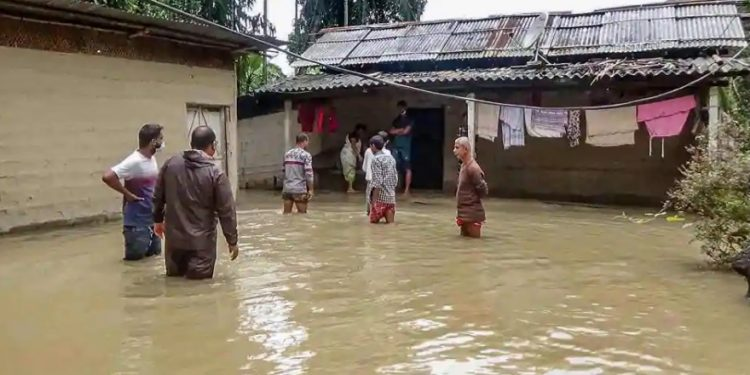 A flood-hit area. (File image)
