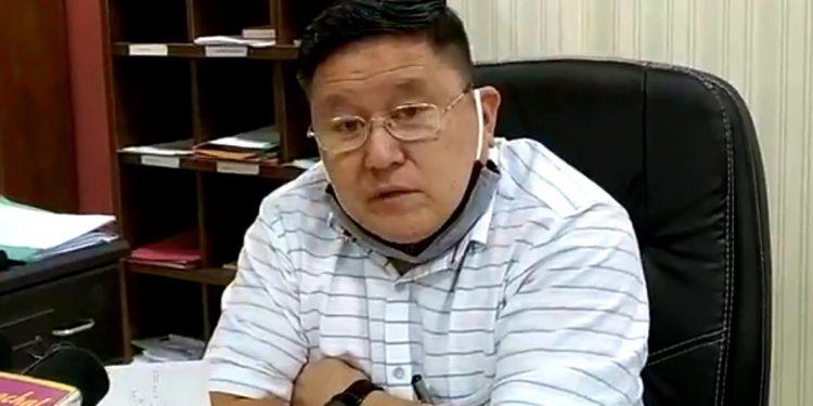 Itanagar Capital Region deputy commissioner Komkar. Image: Northeast Now