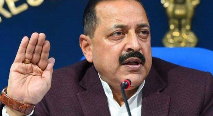 File image of DoNER minister Jitendra SIngh