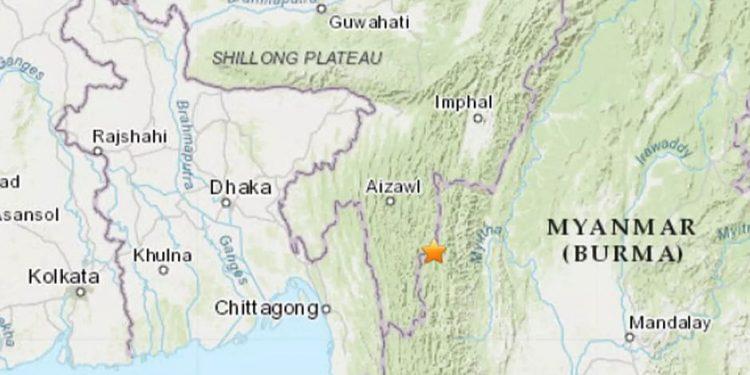 4.3 magnitude earthquake rocks Mizoram, 9th quake in a month 1