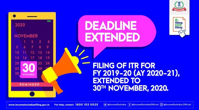 COVID-19 impact: Income tax returns submission date extended till Nov 30 1