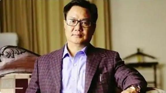 Sports minister Kiren Rijiju. (File image)