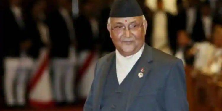 Nepal PM  KP Sharma Oli.