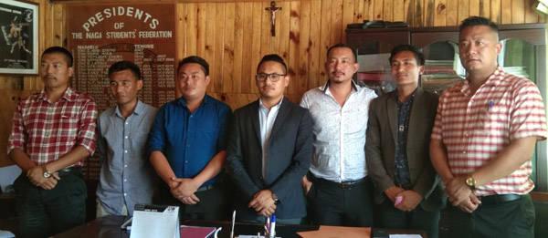 Naga Students' Federation leaders. (file image)