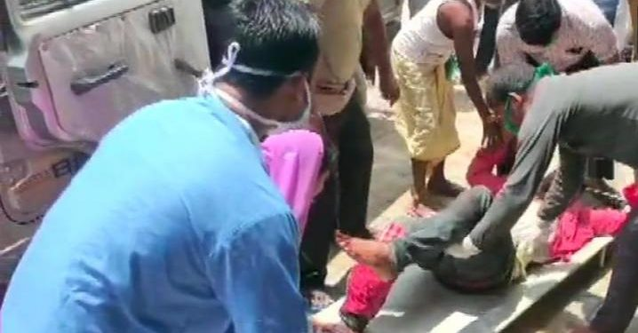 Jitendra Kumar Singh was injured in the firing.