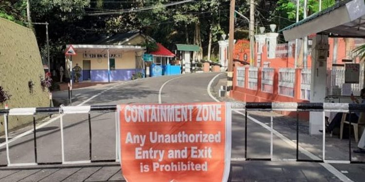 Raj Bhavan was declared a containment zone on July 4.