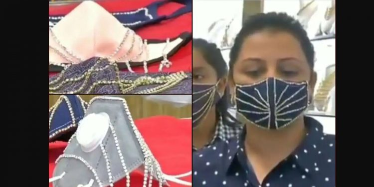 Diamond face masks