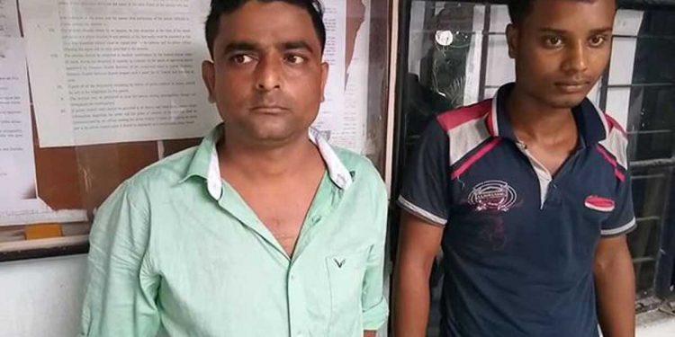 Police arrest drug peddlers in Darrang. Image: Northeast Now