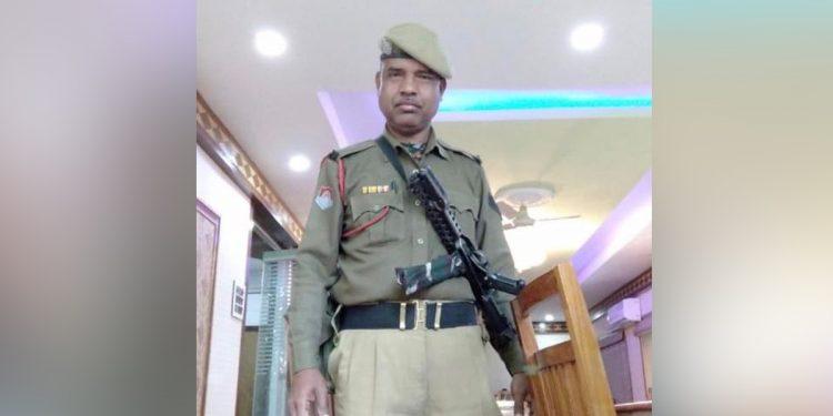 IRBn constable Hareshwar Nath