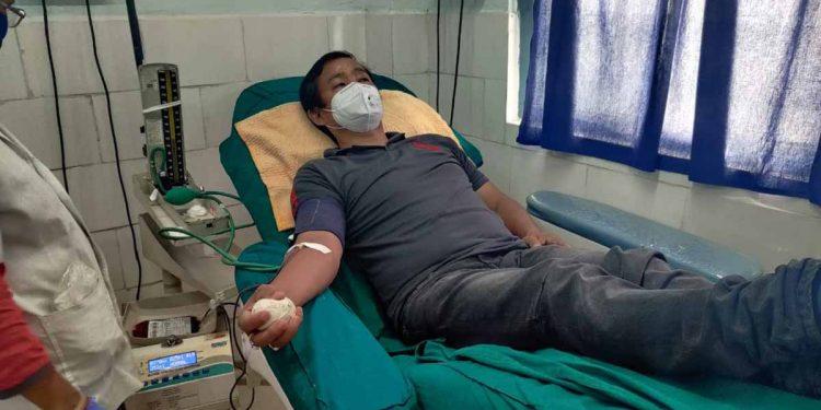 Blood donation amid COVID-19 in Arunachal Pradesh